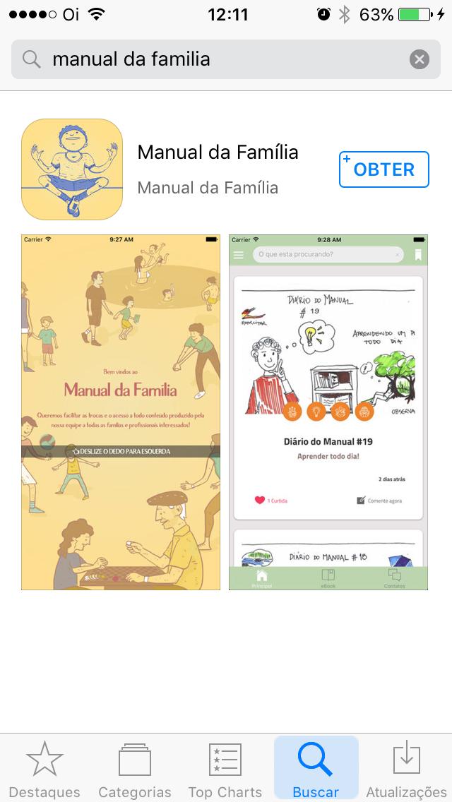 Exposição Final - Manual da Família
